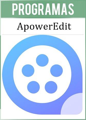 Apowersoft ApowerEdit Versión Full Español
