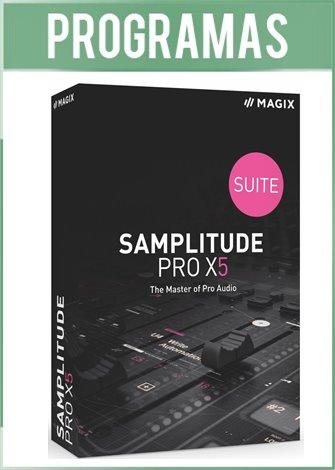MAGIX Samplitude Pro X5 Suite Versión Full Español