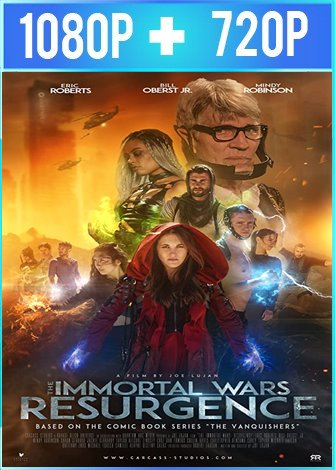The Immortal Wars: Resurgence (2019) HD 1080p y 720p Latino Dual