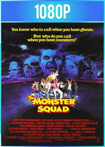 The Monster Squad [Escuadrón Antimonstruos] (1987) HD 1080p Latino Dual