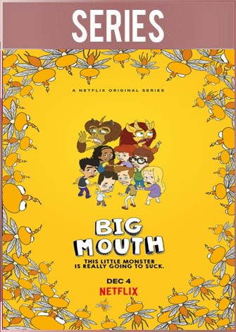 Big Mouth Temporada 4 (2020) Completa HD 720p Latino Dual