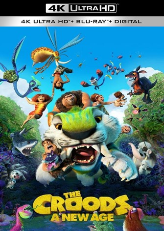 The Croods 2: A New Age 4K Ultra HDR Latino Dual