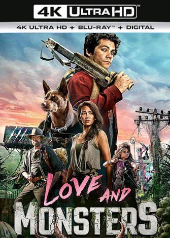 Amor y monstruos (2020) 4K UltraHD 2160p HDR Latino Dual