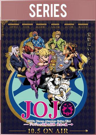JoJo's Bizarre Adventure: Golden Wind (2018) HD 1080p Latino Dual