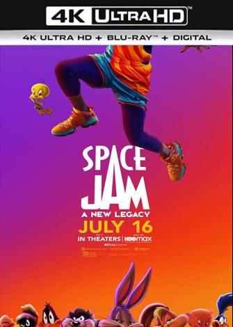 Space Jam 2: Una nueva era (2021) 4K UltraHD 2160p HDR Latino Dual